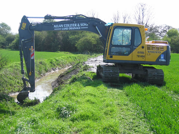 Land Drainage Contractor Allan Collyer Amp Sons Ltd